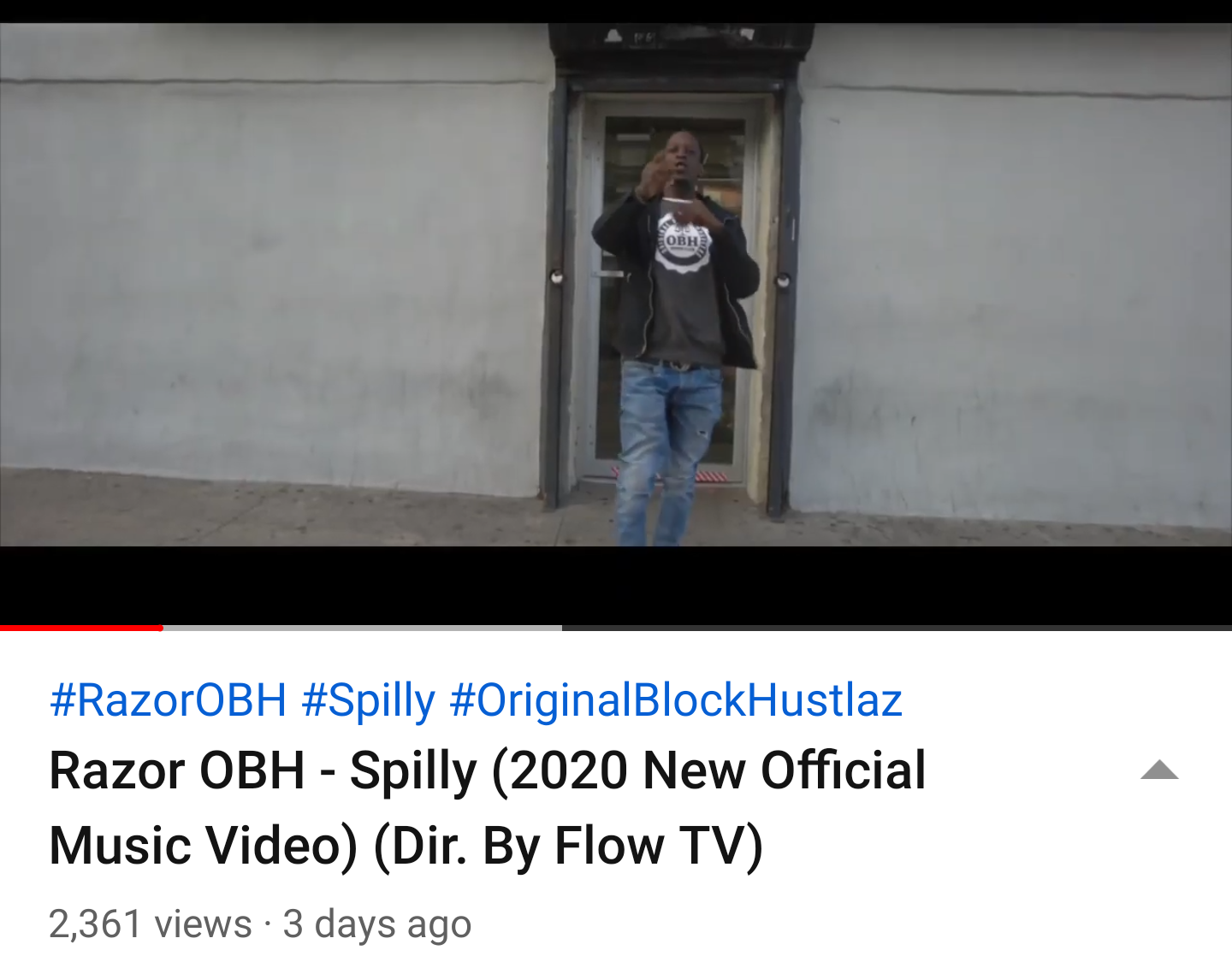 Razor OBH – Spilly (2020 New Official Music Video) (Dir. By Flow TV)