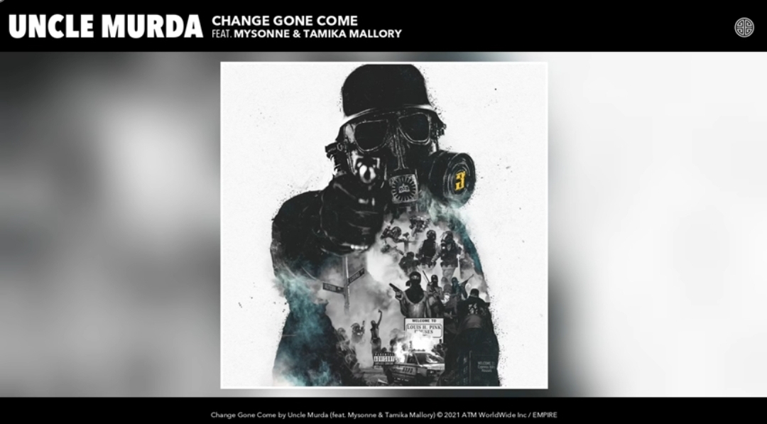 Uncle Murda – Change Gone Come (Audio) ft. Mysonne, Tamika Mallory