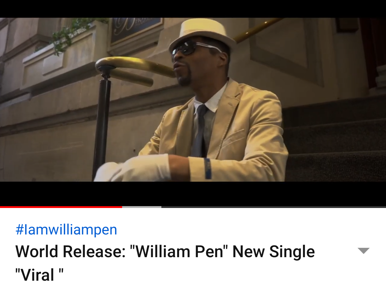 "World Release: ""William Pen"" New Single ""Viral """