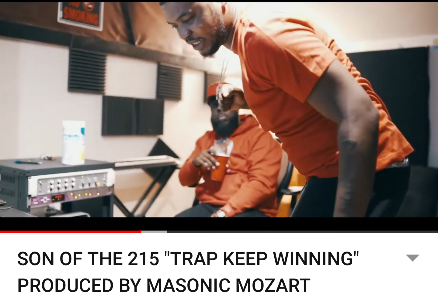 """SON OF THE 215 """"TRAP KEEP WINNING"""" PRODUCED BY MASONIC MOZART"""