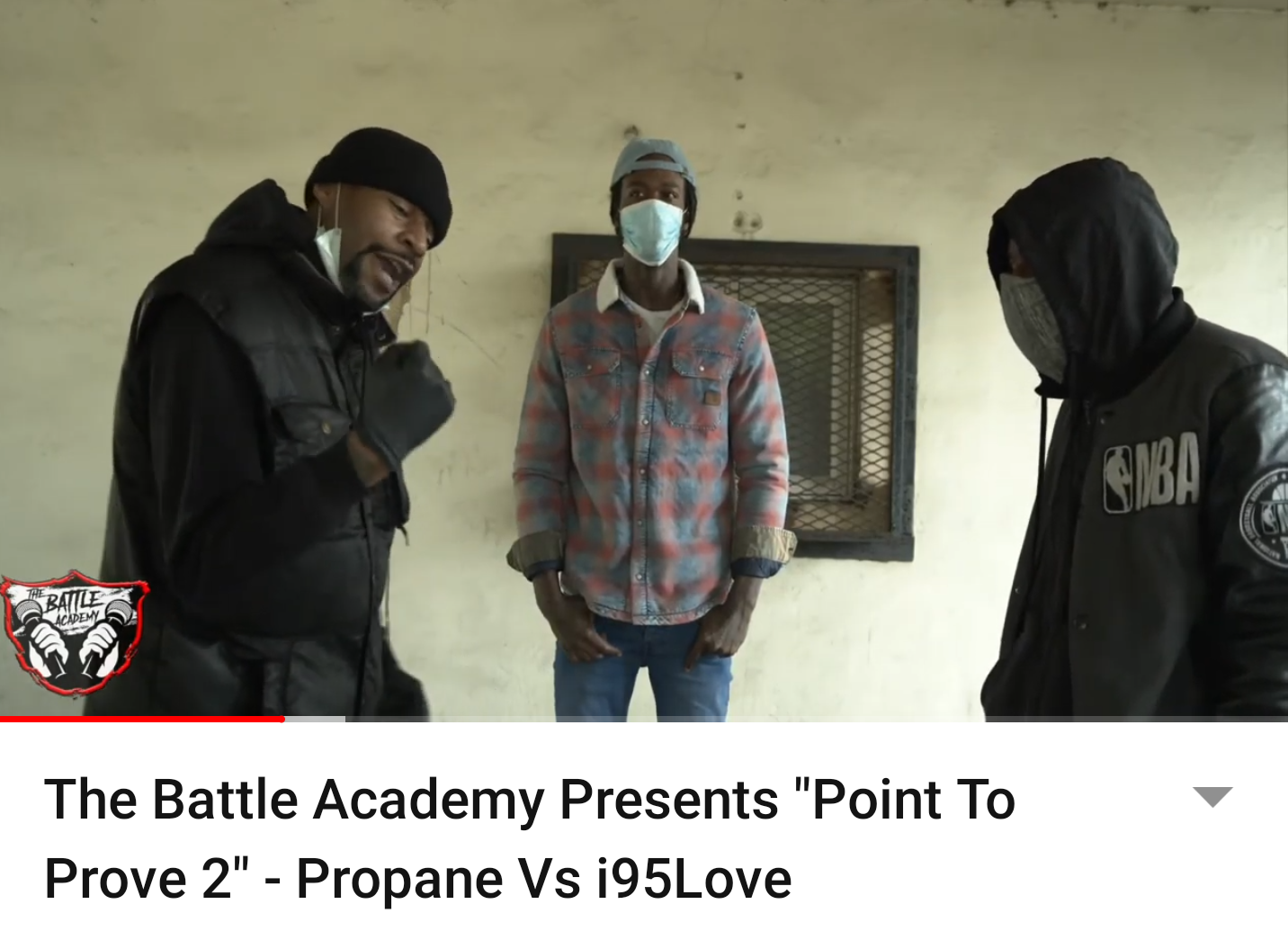 """The Battle Academy Presents """"Point To Prove 2"""" – Propane Vs i95Love"""