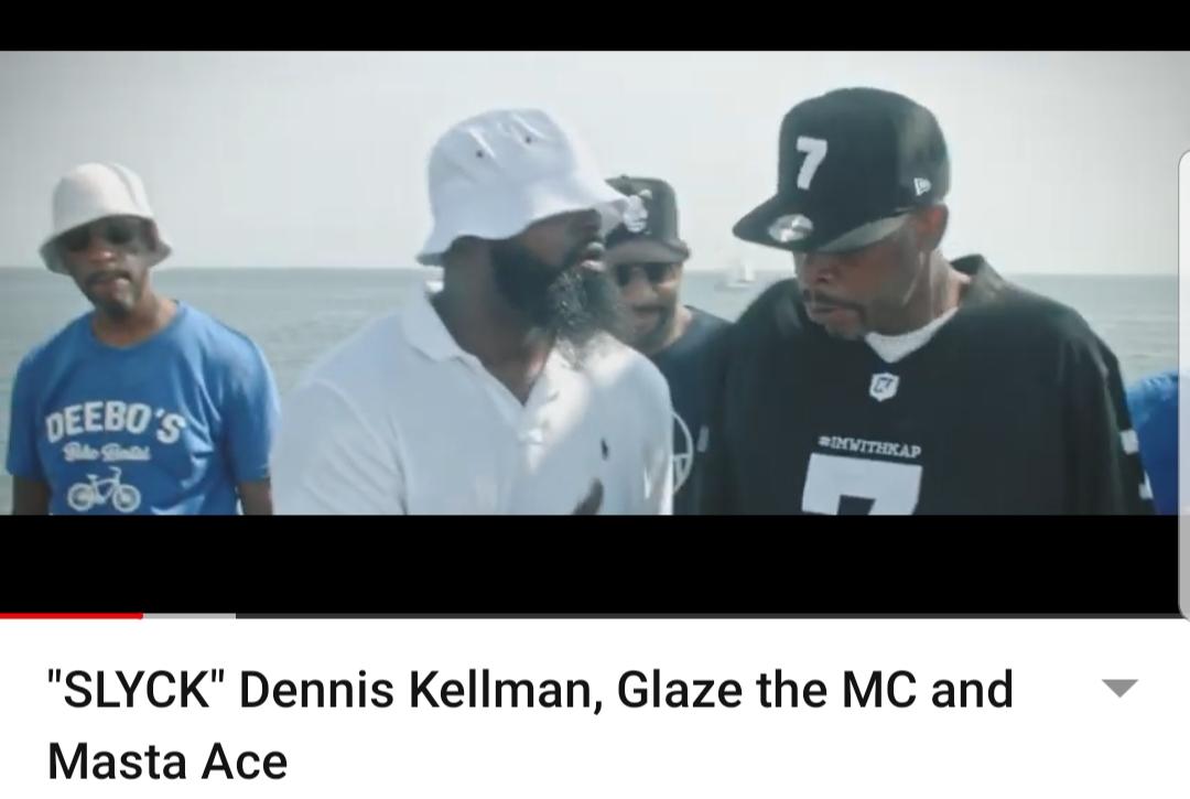 """SLYCK"" Dennis Kellman, Glaze the MC and Masta Ace"