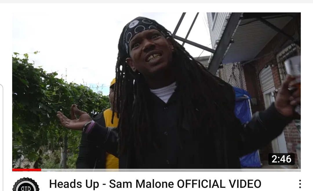 Heads Up – Sam Malone OFFICIAL VIDEO