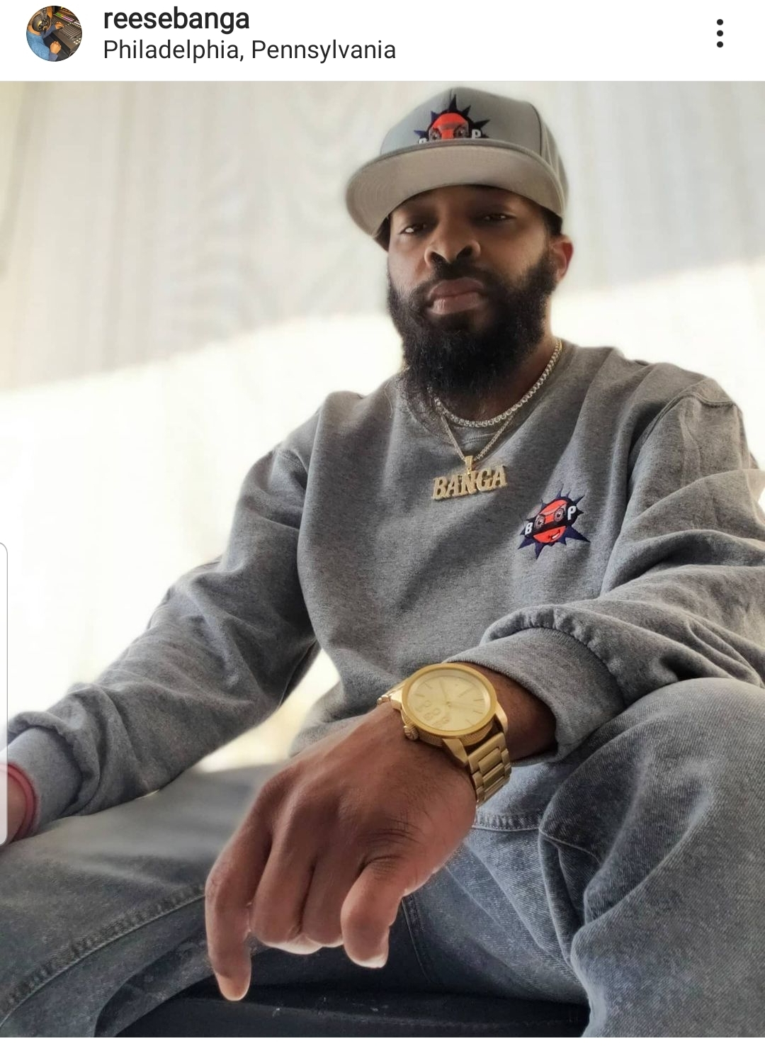 Reese Banga – Carry it was produced by PantherBred