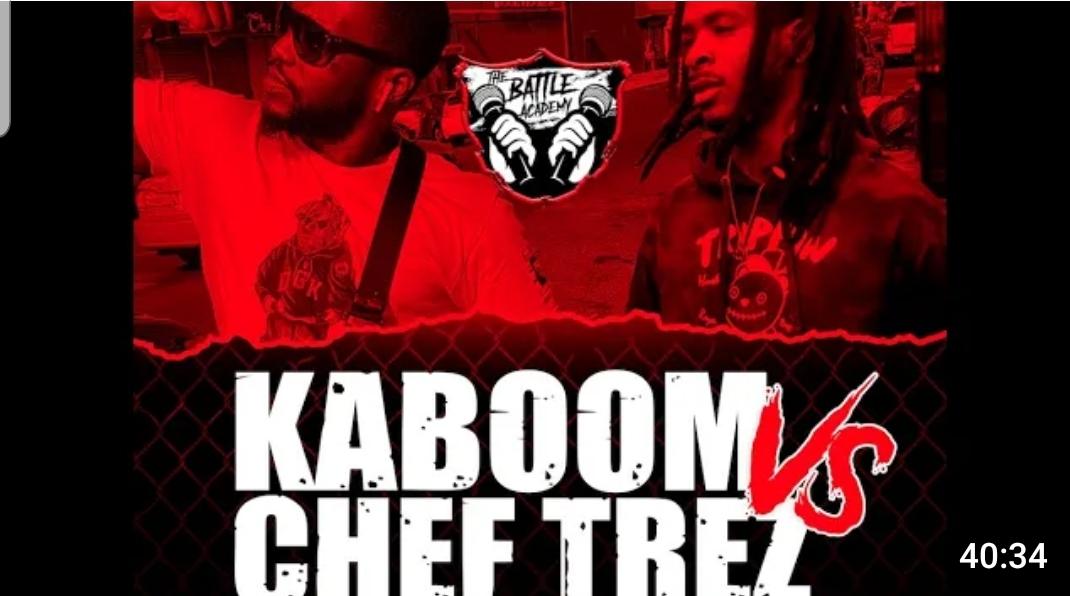 """CHEF TREZ VS KABOOM (FULL BATTLE – """"KING ME"""")"""