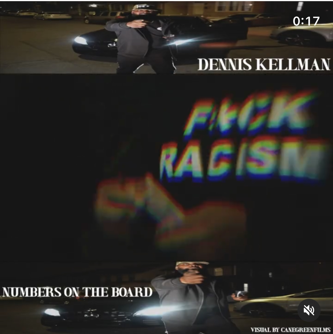 """Dennis Kellman """"The Vaccine of the Rap Scene"""" Freestyle (Numbers on the Board)"""
