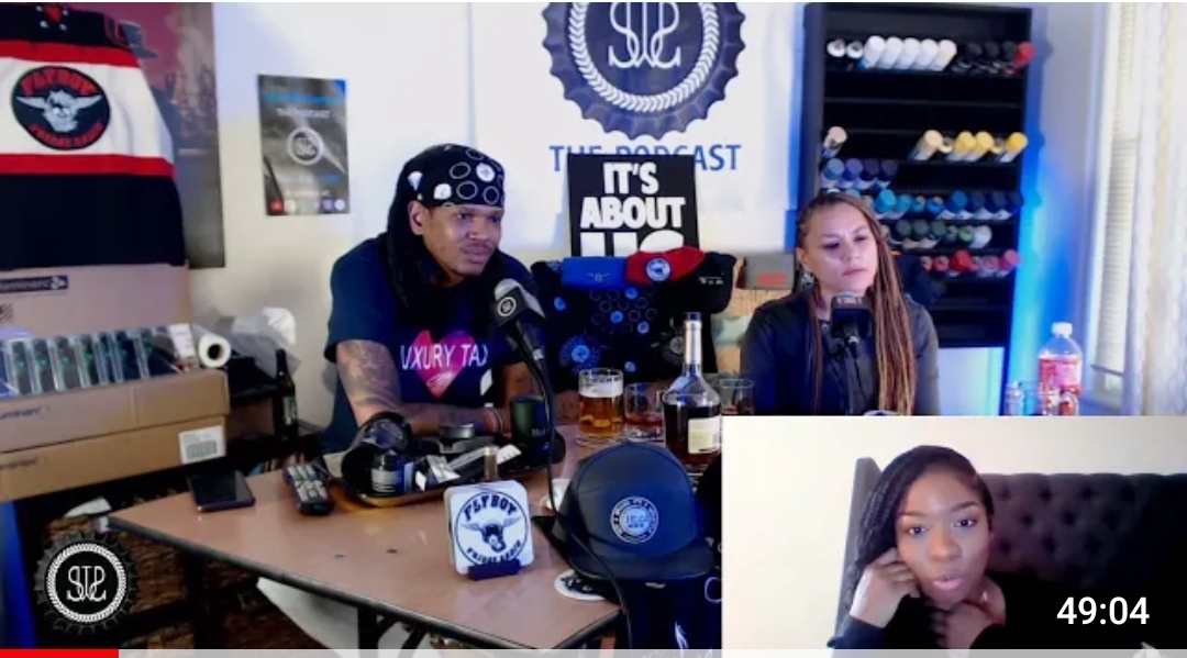 SippinwitSammie – Episode 103 – Sippin & Charged Up wit Ciji